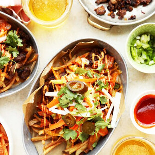 Loaded Idaho® Potato Kimchi Fries