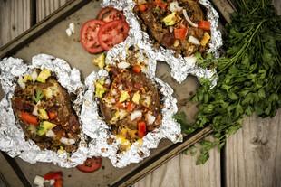 Smoked and Loaded Baked Idaho® Potatoes