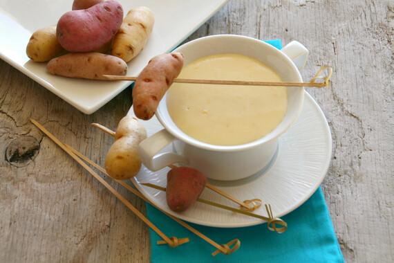 Idaho® Fingerling Potatoes and Fondue