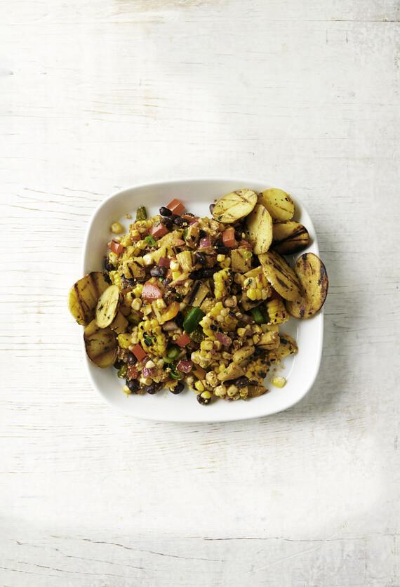 Yellow Potato Esquites Salad
