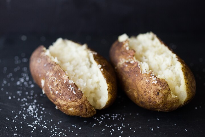 Perfect Basic Baked Potato