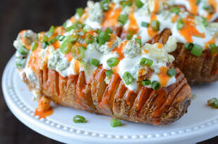 Buffalo Hasselback Idaho® Potatoes