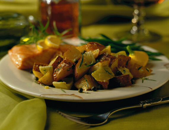 Roasted Potato & Fennel Salad