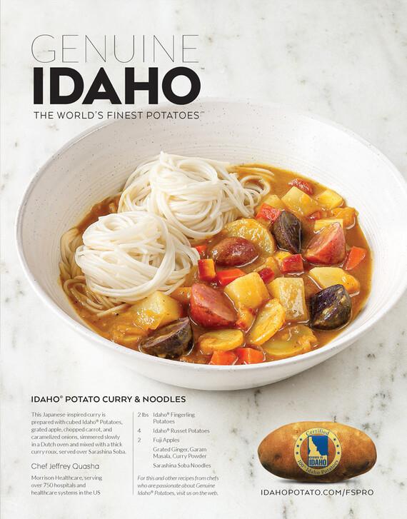 Idaho® Potato Curry & Noodles