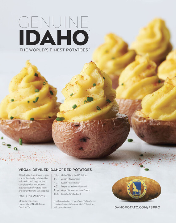 Vegan Deviled Idaho® Red Potatoes