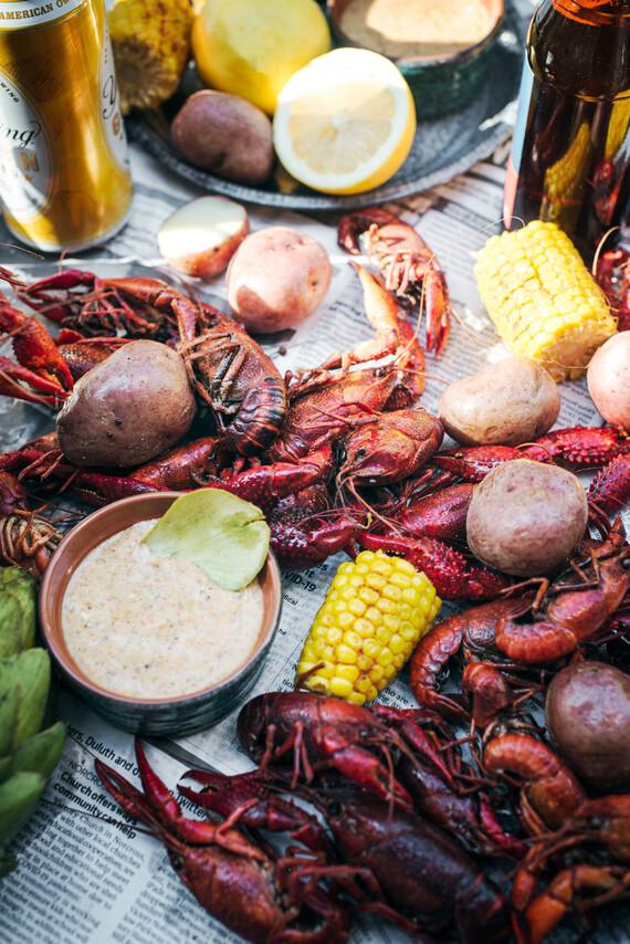 Southern Crawfish Boil