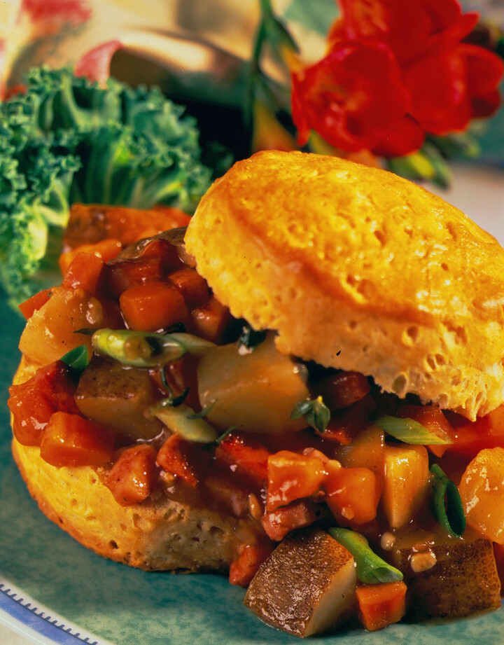 Country Ham and Potato Sauté