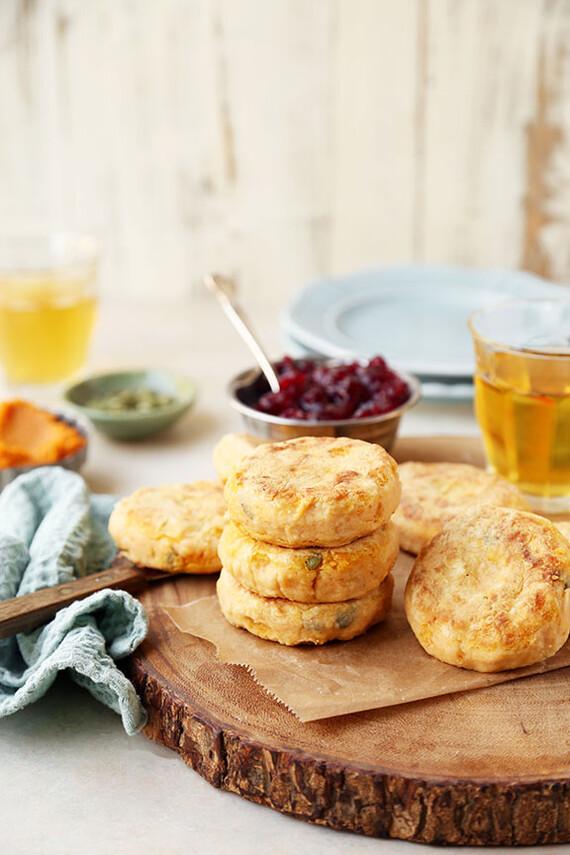 Heart-Healthy Idaho® Potato Pumpkin and Pepita Patties