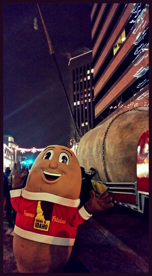 Idaho Potato Commission Rings in 2015 as Presenting Sponsor of 2nd Annual Idaho New Year's Eve Potato® Drop