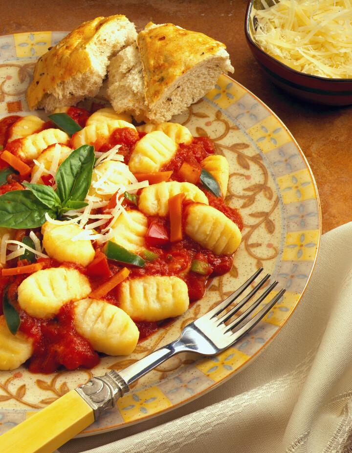 Parmesan Idaho® Potato Gnocchi with Chunky Tomato Sauce