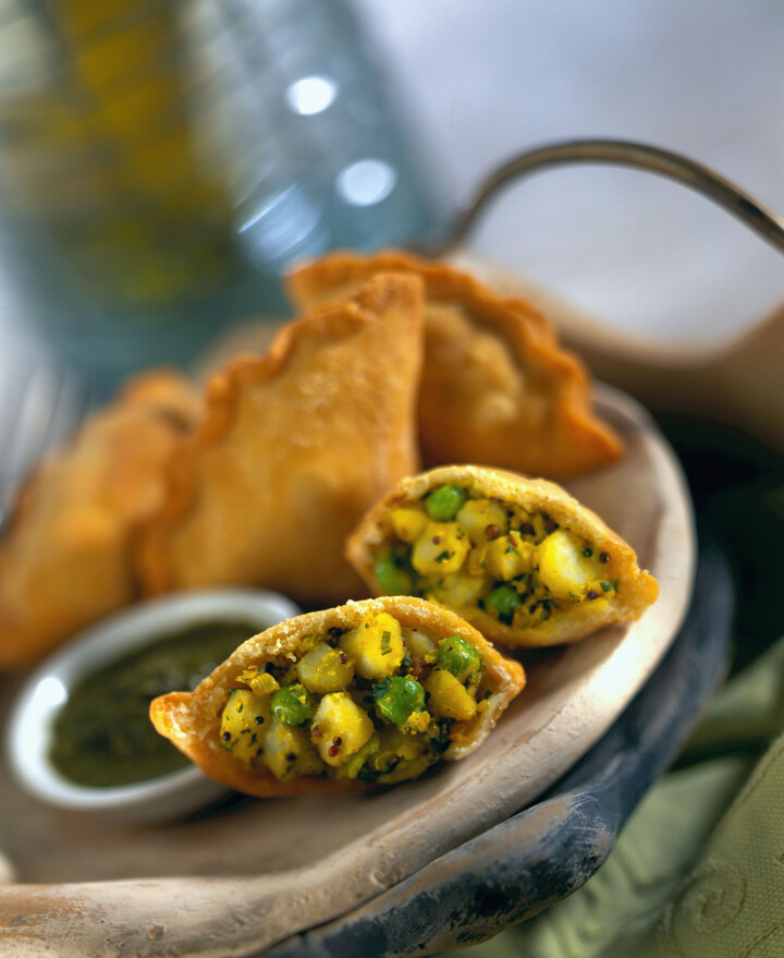 Spicy Potato Samosas