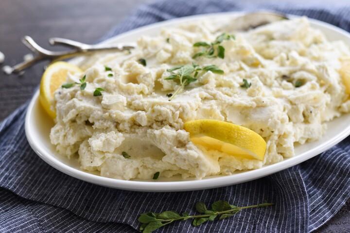 Greek Mashed Idaho® Potatoes