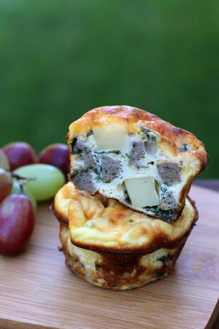 Idaho® Potato Frittata Muffins (Gluten-free)