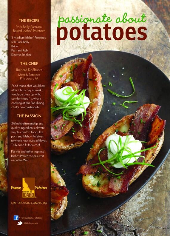 Idaho® Potato Baked Potato Pork Belly Pastrami