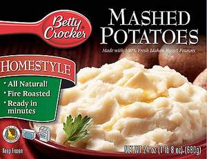 Two American Classics In New Product Line: Idaho® Potatoes & Betty Crocker®