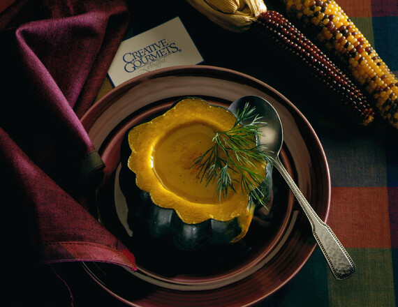 Idaho® Potato and Acorn Squash Bisque