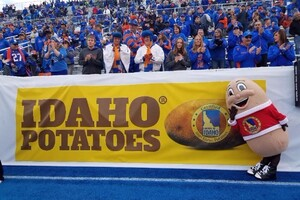 Idaho Potato Commission's New Television Commercial Scored BIG Points during the ESPN- Televised  Boise State University vs University of Virginia Football Game