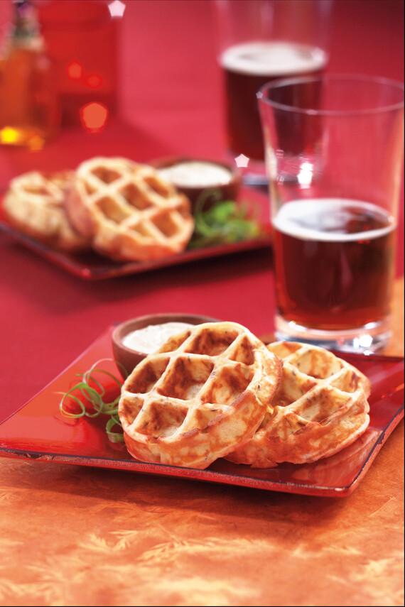 Idaho® Potato-Caraway Waffle