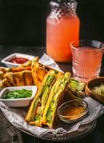 Bombay Potato Sandwich