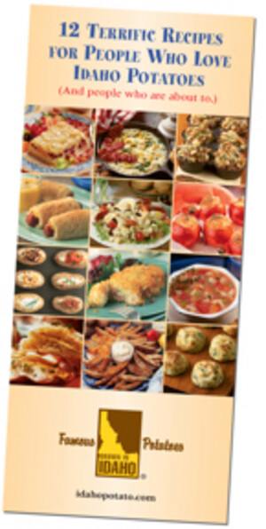 Consumer Premium: A Free Idaho Potato Recipe Brochure