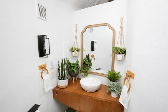 Potato Hotel Bathroom Vanity