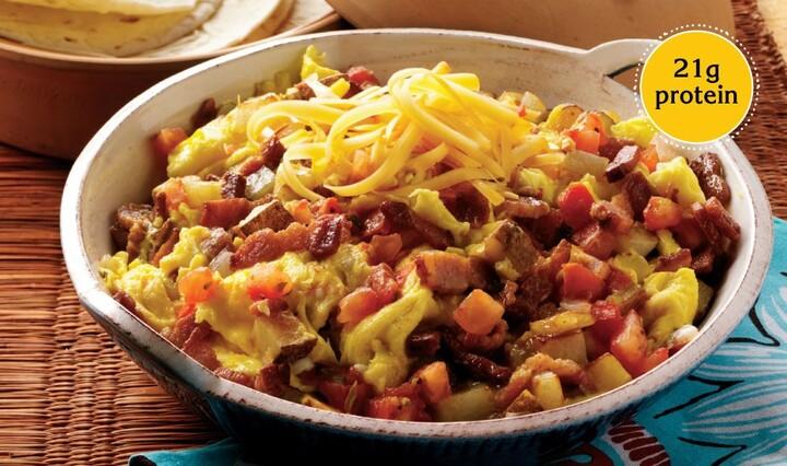Texas-Style Egg and Idaho® Potato Skillet