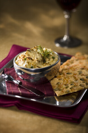 Easy Idaho® Potato - Artichoke Dip