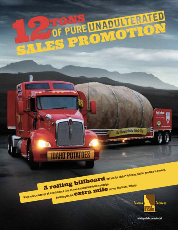 12 Tons Of Pure Unadulterated Sales Promotion