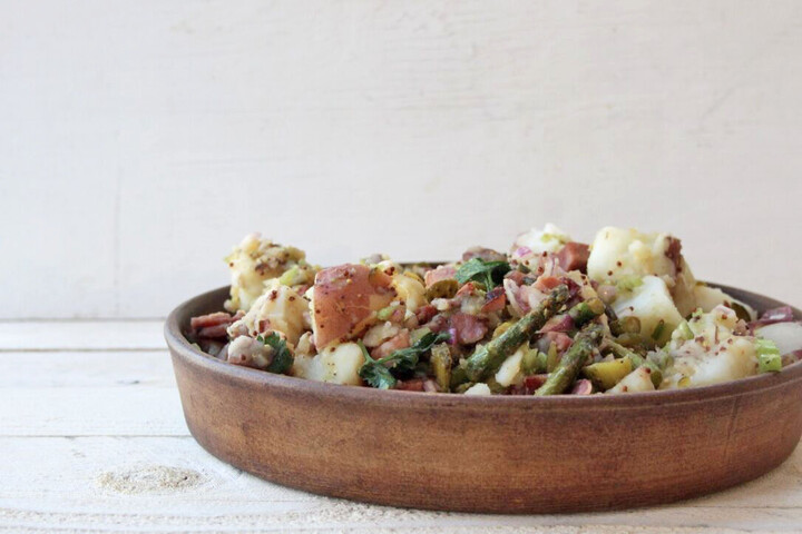 Easter Left Over Potato Salad