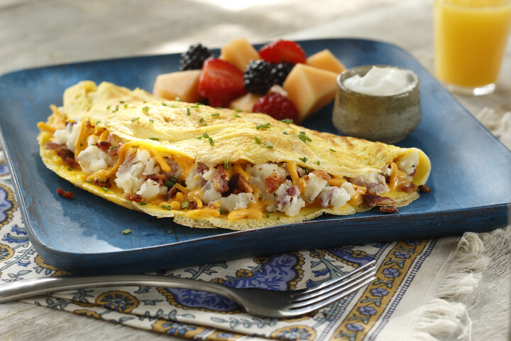 Mashed Potato Omelet