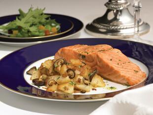 Idaho® Potato and Mushroom Hash