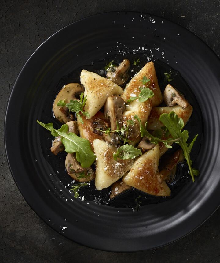 Potato-Parsnip Gnocchi