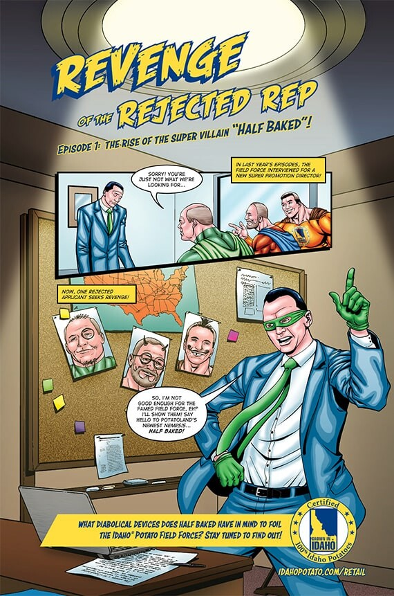"""Episode 1: The Rise of the Super Villain """"Half Baked""""!"""