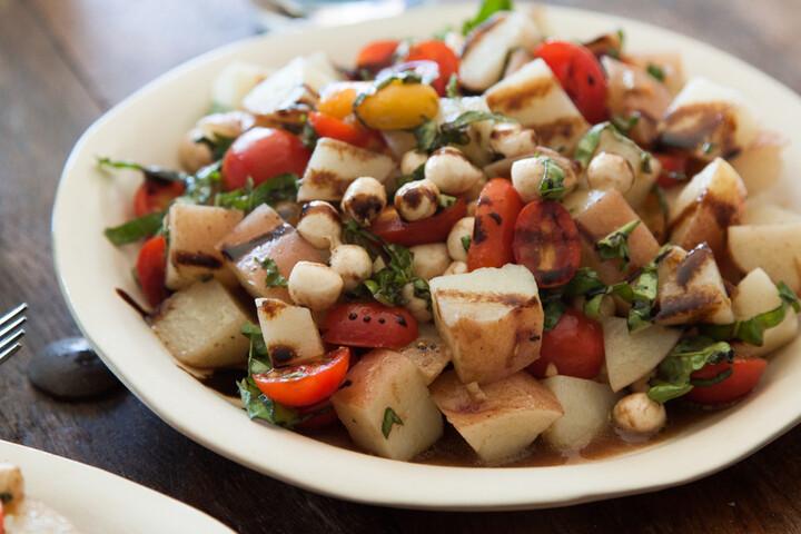 Idaho® Potato Caprese Salad