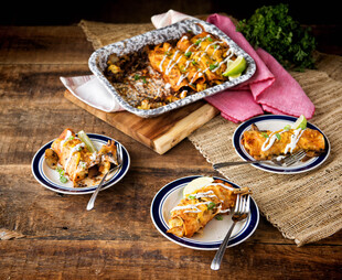 Idaho® Potato New Mexican Breakfast Enchiladas