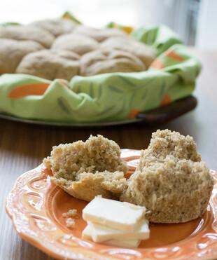 Slow Cooker Whole Wheat and Spelt Idaho® Potato Rolls