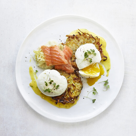 Jam's Smoked Salmon with Idaho® Potatoes