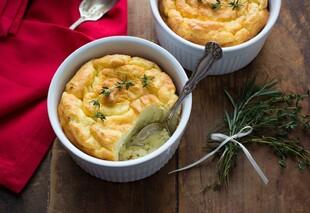 Herb & Cheese Idaho® Potato Soufflés