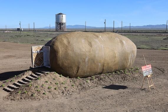 Potato Hotel Exterior