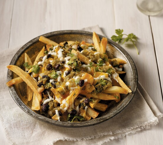 Green Chile Cheese Fries