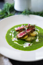 Nordic Spring Ahi with Potatoes