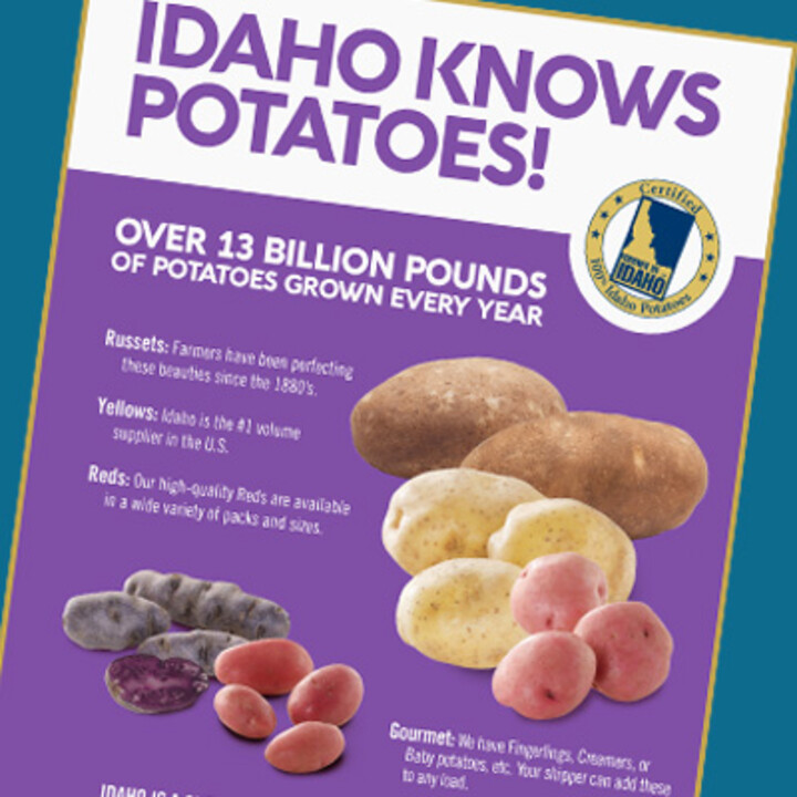 Idaho Knows Potatoes!