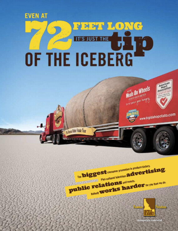Even At 72 Feet Long It's Just The Tip Of The Iceberg