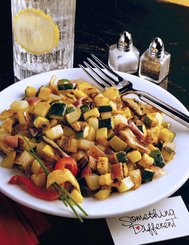 Summer Idaho® Potato and Vegetable Hash