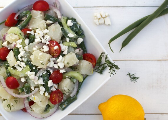 Greek Idaho® Potato Salad