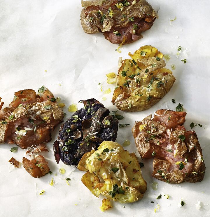 Crispy Lemon & Herb Idaho® Fingerling Potatoes