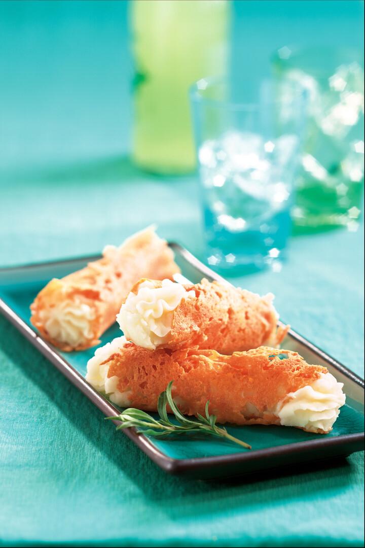 Truffled Parmesan Idaho® Potato Cannoli