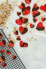 Pink Idaho® Potato Candy Hearts