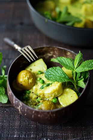 Balinese Fish and Idaho® Potato Curry (Kari Ikan)