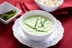 Cream of Potato and Poblano Soup